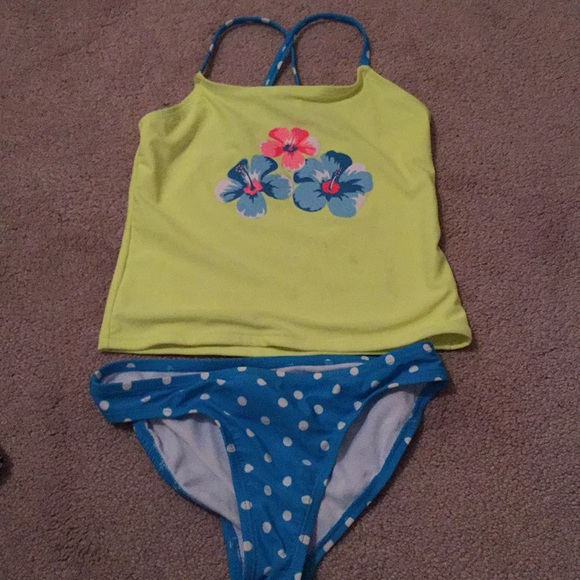 Clothing, Shoes & Accessories Op Swimsuit Toddler Girls Size 18 Months Aqua Mint Spots Tutu One Piece Swimming